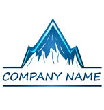 Mountains logo Stock Images