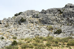 Mountains of Lucena Royalty Free Stock Image