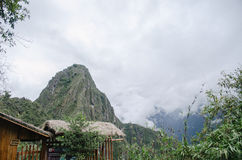 Mountains in Machu Pichu Royalty Free Stock Images