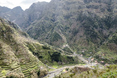 Mountains on Madeira Island. Royalty Free Stock Image