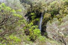 Mountains on Madeira Island. Stock Photo