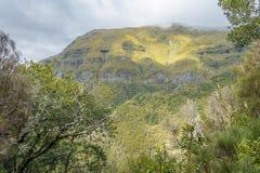 Mountains on Madeira Island. Royalty Free Stock Photos