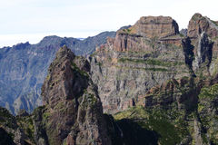 Mountains in Madeira in the springtime Stock Image