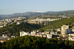 Mountains of Malaga Royalty Free Stock Images