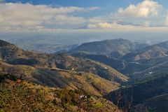 Mountains of Malaga Stock Photos