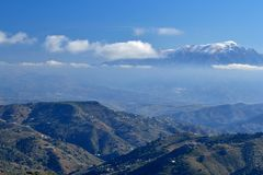 Mountains of Malaga Stock Images