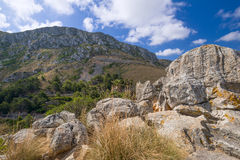 Mountains of Mallorca Island Royalty Free Stock Image