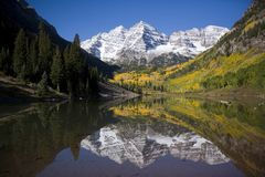Mountains   Maroon Bells Stock Images