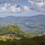 Mountains of Martinique Stock Images