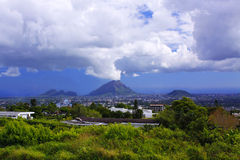 Mountains at Mauritius Stock Photos