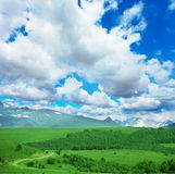 Mountains meadow Stock Image