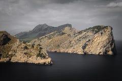 Mountains Meet the Sea Stock Photo