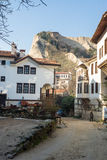 Mountains and Melnik in Bulgaria Stock Photography