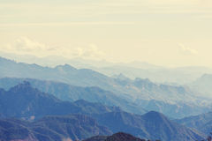 Mountains in Mexico Royalty Free Stock Photography