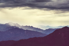 Mountains in Mexico Stock Photography