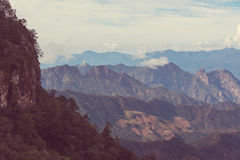 Mountains in Mexico Stock Image