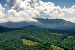 Mountains of middle Bosnia Stock Photos