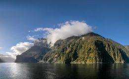 Mountains in the Milford Sound Stock Photos