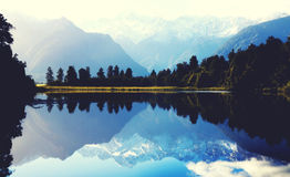 Mountains Milford Sound Travel New Zealand Concept Stock Images