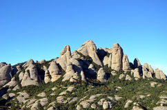 Mountains of Montserrat, Catalonia, Spain Royalty Free Stock Photography