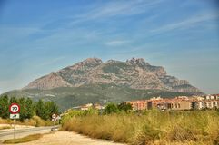 Mountains Montserrat Royalty Free Stock Images