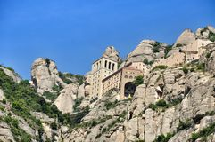 Mountains Montserrat Stock Photography