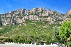 Mountains Montserrat Royalty Free Stock Photos