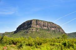Mountains Montserrat Stock Photo