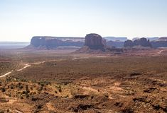 Mountains Monument Valley Royalty Free Stock Image