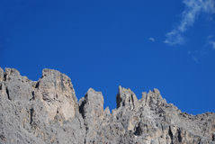 Mountains with moon Royalty Free Stock Image