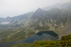 Mountains and mountain lakes in Bulgaria. Mountains and mountain lakes in the Rila Bulgaria Stock Photography