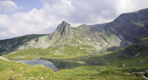 Mountains and mountain lakes in Bulgaria. Mountains and mountain lakes in the Rila Bulgaria Stock Images