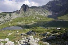 Mountains and mountain lakes in Bulgaria. Mountains and mountain lakes in the Rila Bulgaria Royalty Free Stock Photo