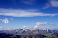 Mountains. Mountain view on a clear day Royalty Free Stock Photo