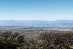 Mountains upon mountains. Mountain Zebra National Park with the view of the mountains Stock Photography