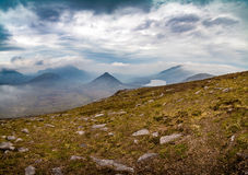 Mountains of Mourne. A view of the Mourne Mountains in County Down, Northern Ireland Royalty Free Stock Photos