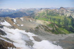 Mountains from Mt. Tenquille Stock Photography