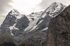 Mountains of Murren Stock Photo