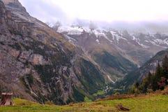 Mountains of Murren Stock Image
