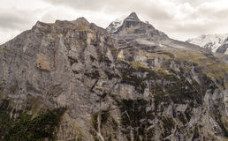 Mountains of Murren Royalty Free Stock Photography
