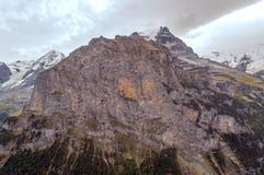 Mountains of Murren Stock Photo