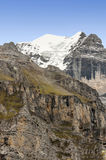 Mountains of Murren Royalty Free Stock Photos