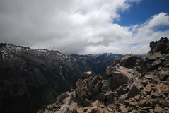 Mountains of Nahuel Huapi, Argentina royalty free stock photo