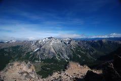 Mountains of Nahuel Huapi, Argentina stock image