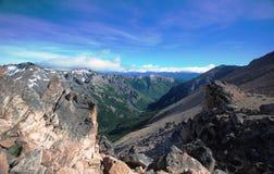 Mountains of Nahuel Huapi, Argentina royalty free stock photography