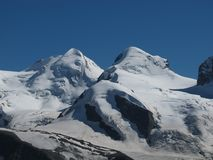 Mountains Named Zwillinge  (Twinns ) Royalty Free Stock Image
