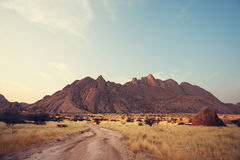 Mountains in Namibia Stock Image