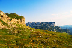 Mountains of  National Park Montenegro Stock Photography