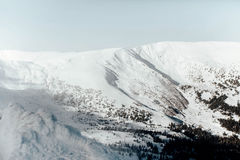 Mountains nature beauty Stock Image