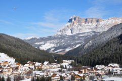 Mountains - Nature. View of the Mountains in Trentino Alto Adige stock illustration